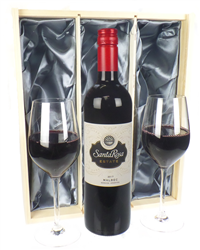 Wine & Glasses Gift Set