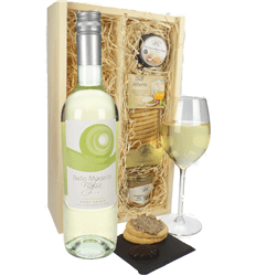 Wine & Food Hamper Box
