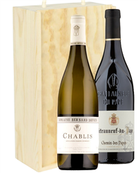 Chablis and Chateauneuf-du-Pape Mix...