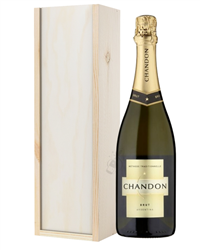 Chandon Brut Sparkling Wine Gift in...