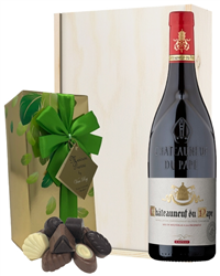Chateauneuf Du Pape Wine and Chocol...