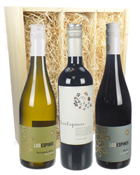 Chilean Three Bottle Wine Gift in W...