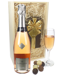 Langlois Rose Sparkling Wine And Be...