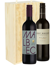 Malbec Mixed Two Bottle Wine Gift i...