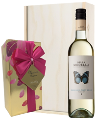 Pinot Grigio Wine and Chocolates Gi...