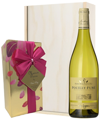 Pouilly Fume White Wine And Chocola...