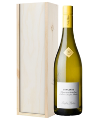 Sancerre White Wine Gift in Wooden ...