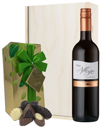 Sangiovese Wine and Chocolates Gift...
