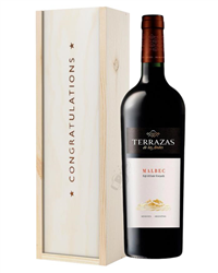 Terrazas Reserva Malbec Red Wine Co...